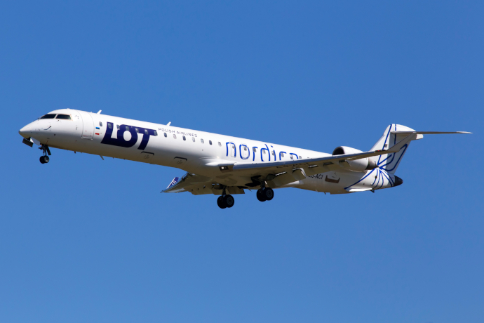 Tallinn Airport is a hub for LOT Polish Airlines.