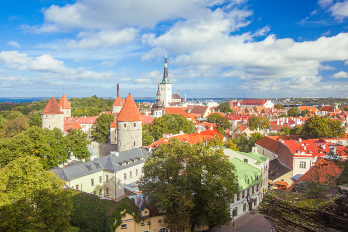 Tallinn's Old Town is one of the best preserved medieval cities in Europe.